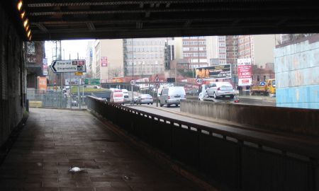 Gt Charles St from Under Railway Bridge 2006