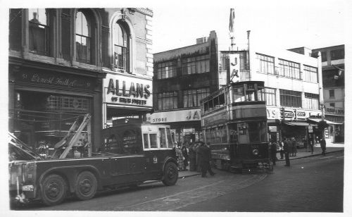 High St Carrs Lane 1953