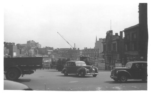 Holloway Head Towards City 1958
