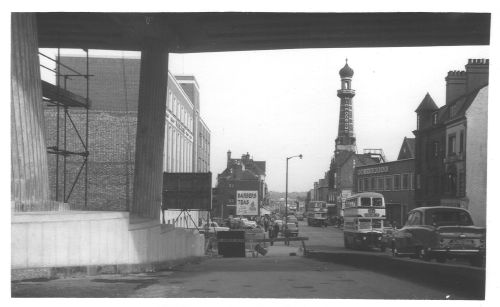 Hurst Street from Inner Ring Road 1959