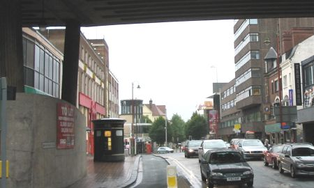 Hurst Street from Inner Ring Road 2005