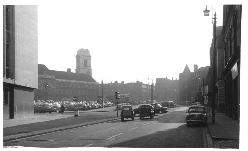 Lancaster Place from Lancaster St 1962