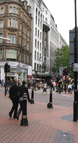 New Street/Corporation Street today
