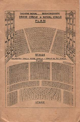 Theatre Royal seating plan