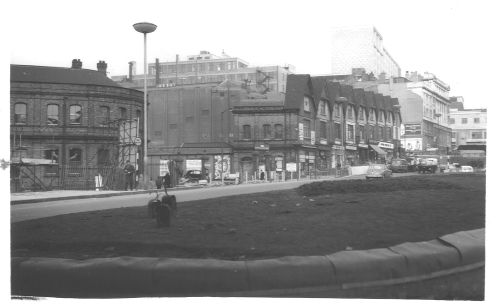 New St Station Ringway Entrance 1962