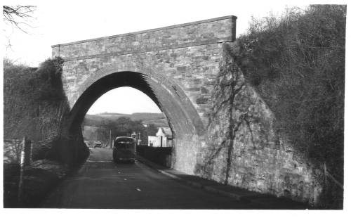 Rail Bridge Hereford Road 1964