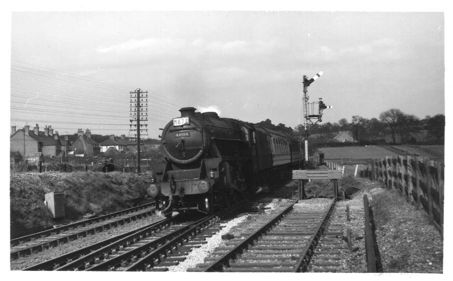 44984 near Blackwell Station 1954