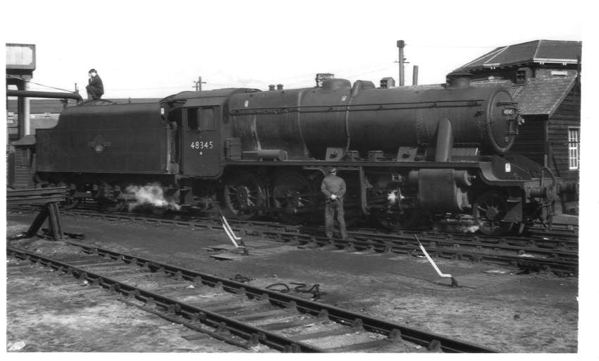 48435 Worcester Shrub Hill Station 1965
