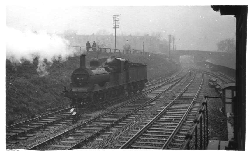 58126 departing Bournville Shed