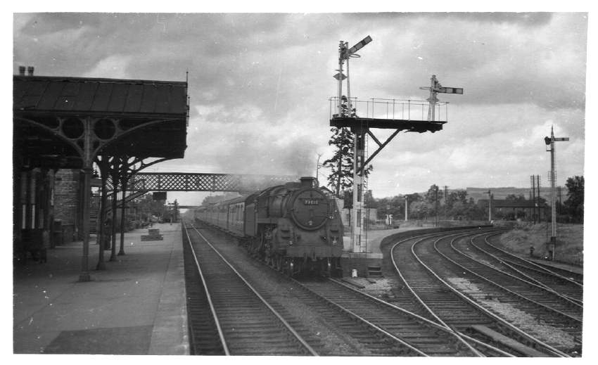 73010 Ashchurch Station 1952