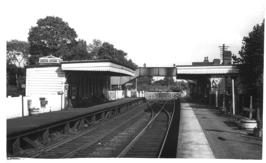 Berkswell and Balsall Common Station 1961