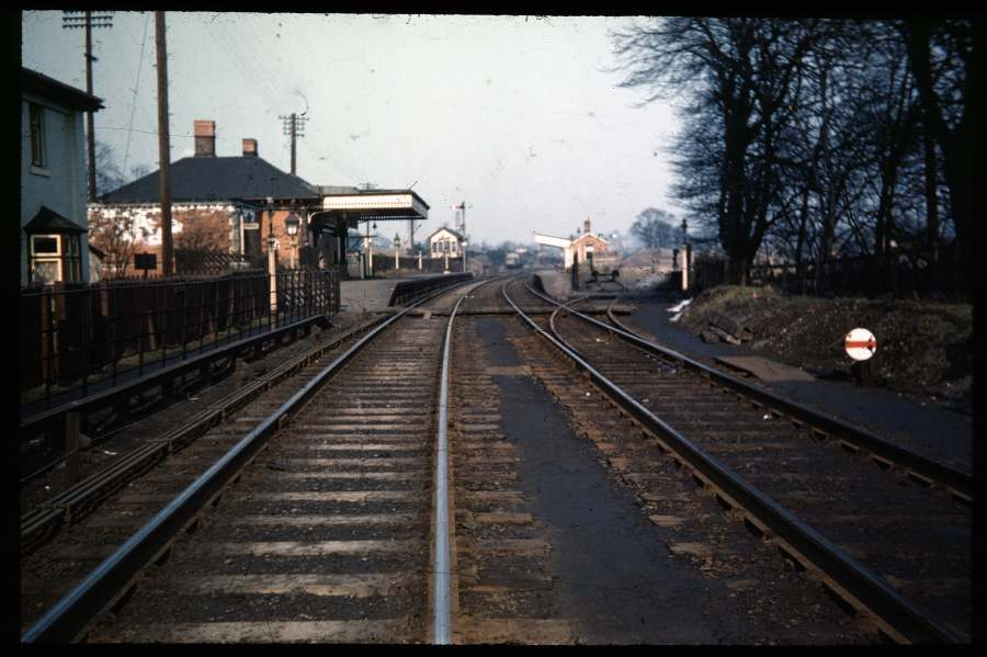 Blackwell Station 1955