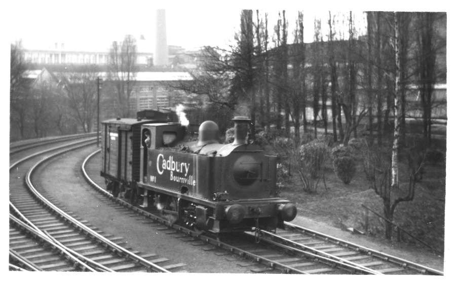 Cadbury No 1 Cadbury's Sidings