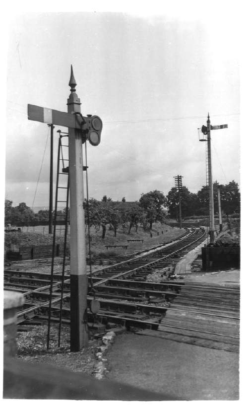 Crossing at Ashchurch Station 1951