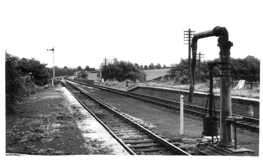 East end of Stratford-on-Avon (SMJ) Station 1962
