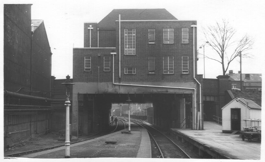 East End of Longbridge Station