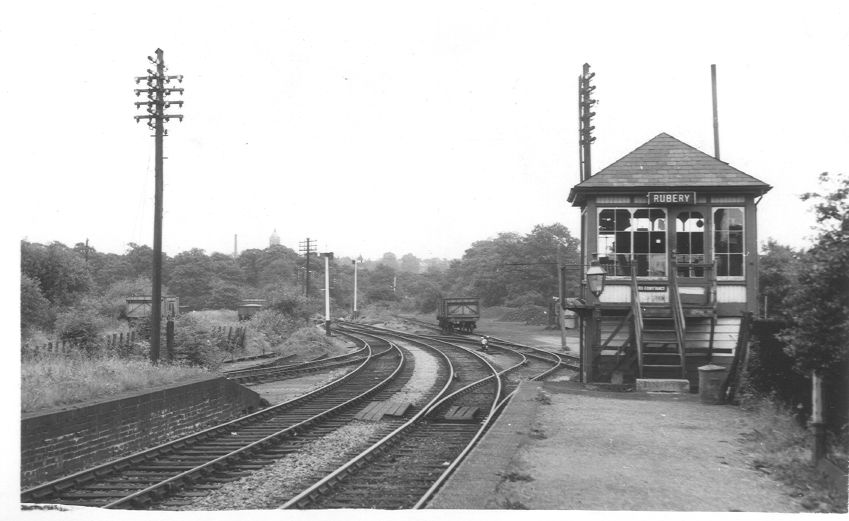 East End of Rubery Station