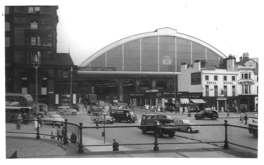 Liverpool (Lime Street) Station 1959