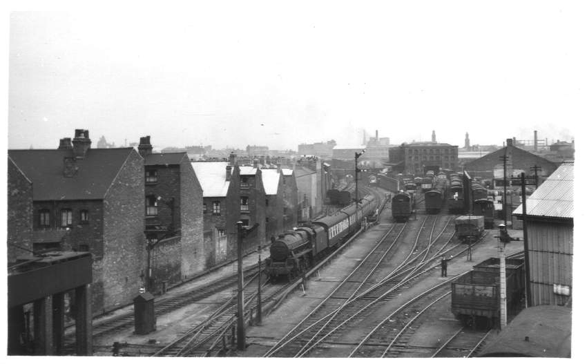 Monument Lane sidings