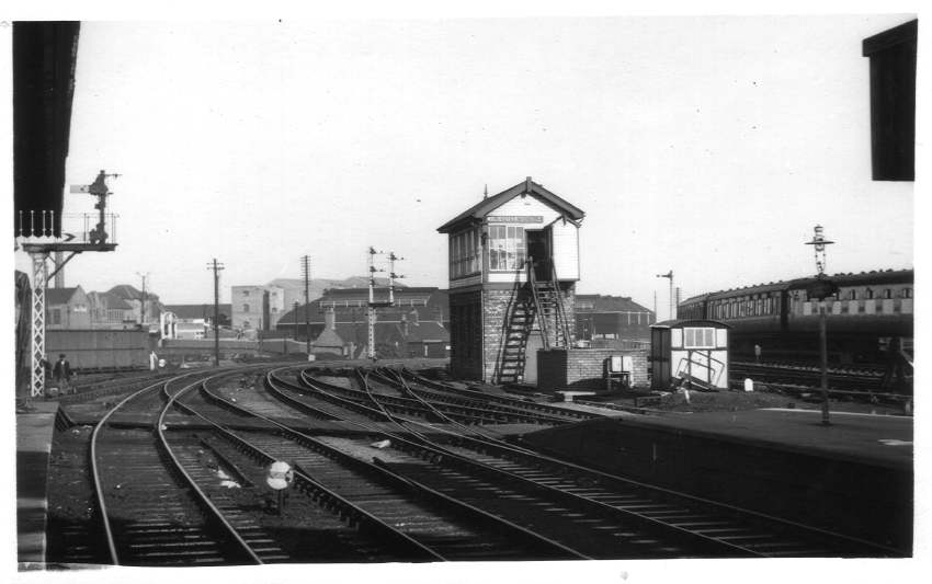 North end of Wolverhampton (High Level) Station 1960