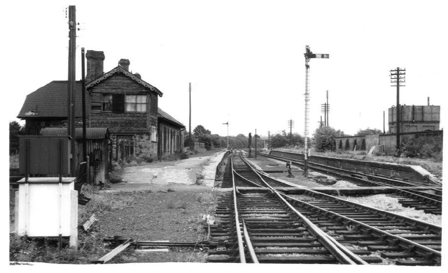 Stratford-on-Avon (SMJ) Station and frame 1962
