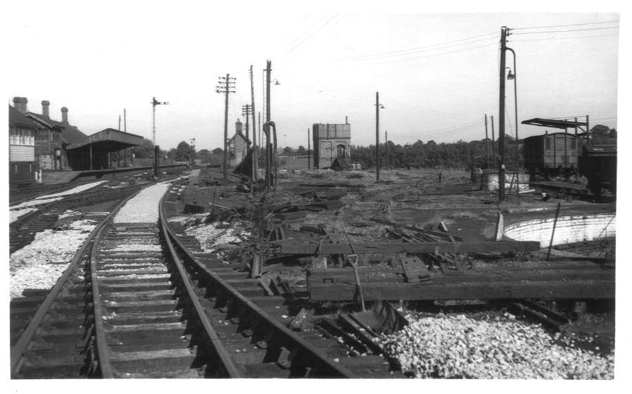 Site of Stratford-on-Avon Shed 1959