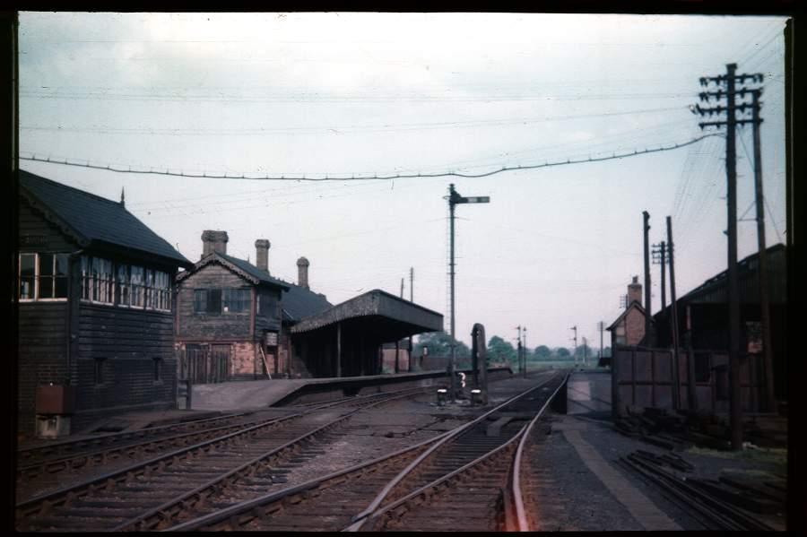 Stratford-on-Avon Station from West 1956