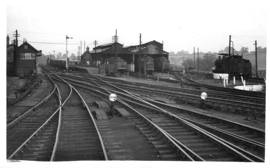 Stratford-on-Avon Station & Shed 1951
