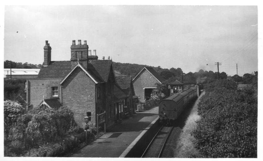 Studley & Astwood Bank Station 1952