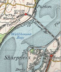 Severn Bridge Map