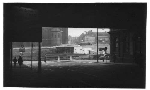 St Chads Circus from Under Railway Bridge 1962