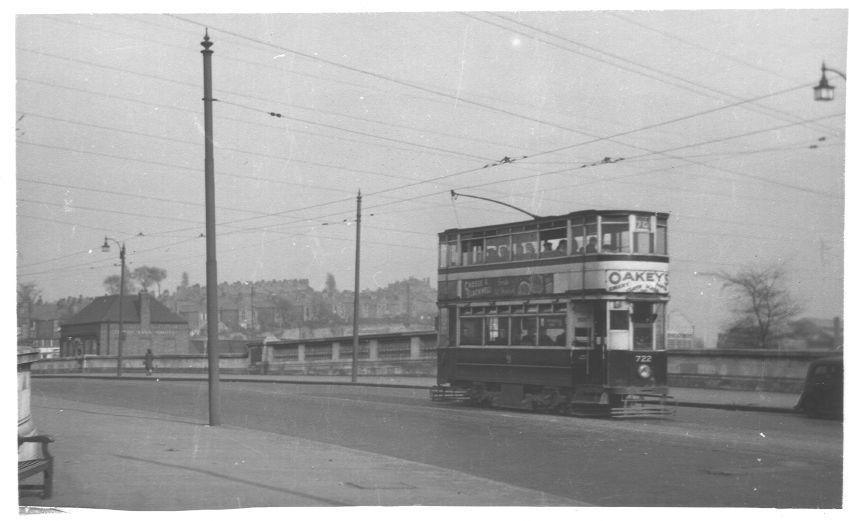 Tram 722 Salford Bridge