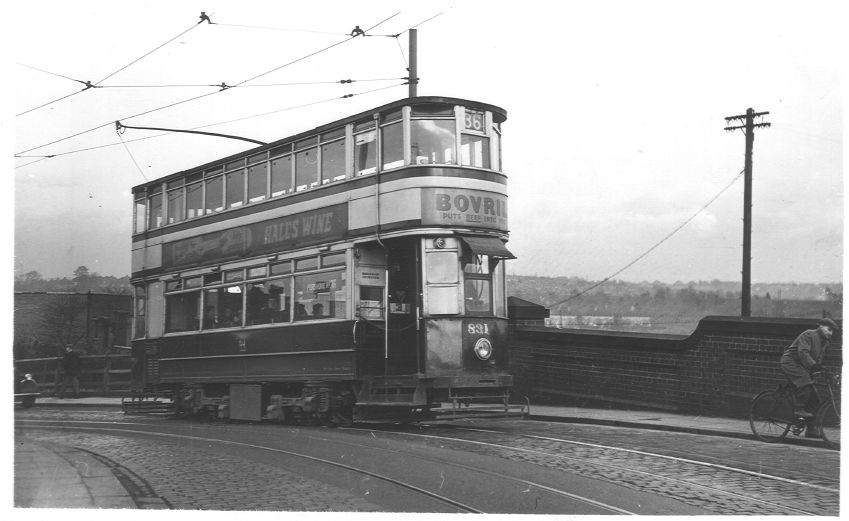 Tram 831 Breedon Hill