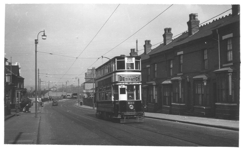 Tram 840 Breedon Hill